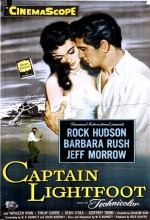 Captain Lightfoot (1955) afişi