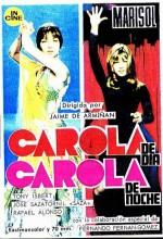 Carola De Día, Carola De Noche (1969) afişi
