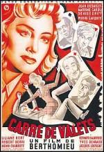 Carré De Valets (1947) afişi