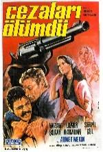 Cezaları Ölümdü (1969) afişi