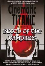 Cinematic Titanic: Blood Of The Vampires (2009) afişi