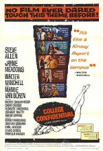 College Confidential (1960) afişi