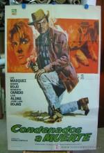 Condenados A Muerte (1963) afişi