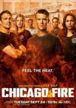 Chicago Fire Sezon 1 (2012) afişi