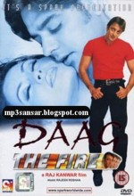 Daag: The Fire (1999) afişi