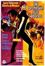 De Profesión, Sus Labores (1970) afişi