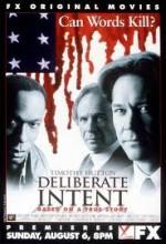 Deliberate ıntent (2000) afişi