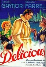 Delicious (1931) afişi
