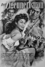 Der Zigeunerbaron (ı) (1954) afişi