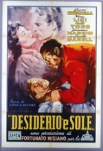 Desiderio 'e Sole (1954) afişi