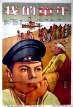Detstvo Gorkogo (1938) afişi