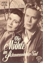 Die Mühle Im Schwarzwäldertal (1953) afişi