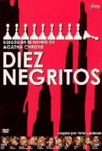 Diez Negritos (1974) afişi
