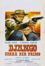 Django Spara Per Primo (1966) afişi