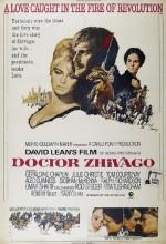 Doktor Jivago (1965) afişi