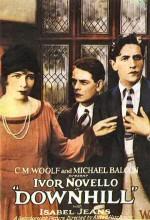 Downhill (1927) afişi