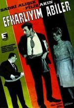 Efkarlıyım Abiler (1966) afişi