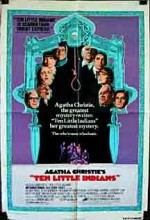 On Küçük Zenci (1974) afişi