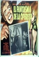 El Fantasma De La Opereta (1960) afişi