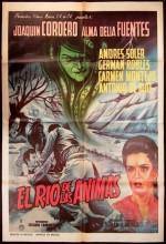 El Río De Las ánimas (1964) afişi