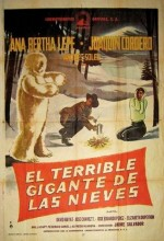 El Terrible Gigante De Las Nieves (1963) afişi