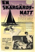 En Skärgårdsnatt (1953) afişi