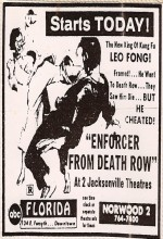 Enforcer From Death Row (1978) afişi
