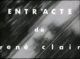Entr'acte (1924) afişi