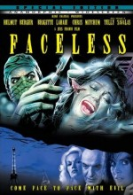Faceless (1987) afişi
