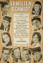 Familien Schmidt (1951) afişi