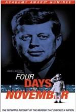 Four Days in November (1964) afişi