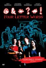 Four Letter Words (2000) afişi
