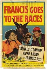 Francis Goes To The Races (1951) afişi