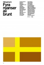 Fyra Nyanser Av Brunt (2004) afişi
