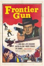 Frontier Gun (1958) afişi