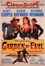 Garden Of Evil (1954) afişi