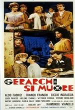 Gerarchi Si Muore (1961) afişi
