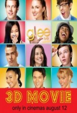Glee: The 3d Concert Movie (2011) afişi