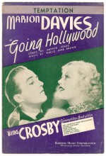 Going Hollywood (1933) afişi