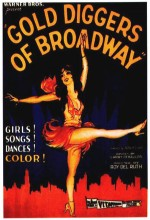 Gold Diggers Of Broadway (1929) afişi