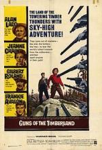 Guns Of The Timberland (1960) afişi