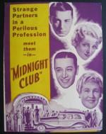 Gece Kulübü (1933) afişi