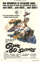 Gone in 60 Seconds (1974) afişi