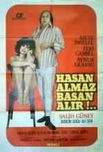 Hasan Almaz Basan Alır (1975) afişi