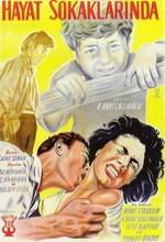 Hayat Sokaklarında (1956) afişi