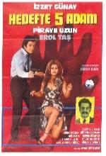 Hedefte Beş Adam (1972) afişi