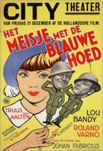 Het Meisje Met Den Blauwen Hoed (1934) afişi