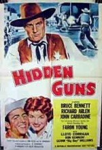 Hidden Guns (1956) afişi