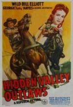 Hidden Valley Outlaws (1944) afişi