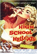 High School Hellcats (1958) afişi